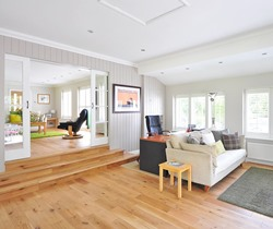 interior designed Linden AL family room