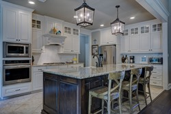 interior designed kitchen in Vinemont AL